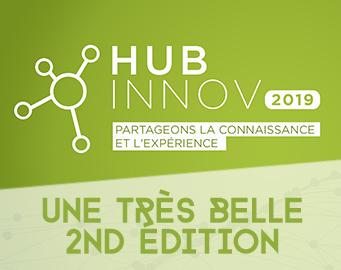 Un franc succès pour la seconde édition du Hub Innov